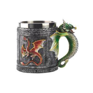 ドラゴンのマグカップ