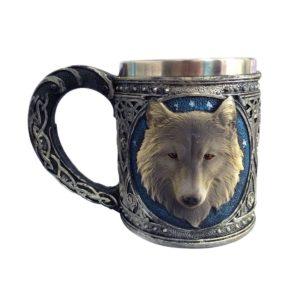 狼のマグカップ