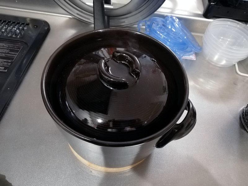 土鍋炊飯 蒸らし