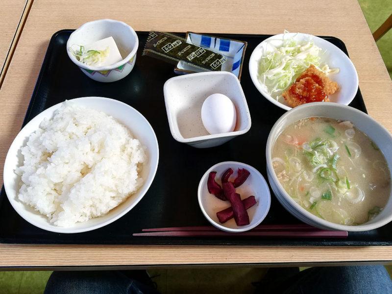 鮎沢 豚汁定食