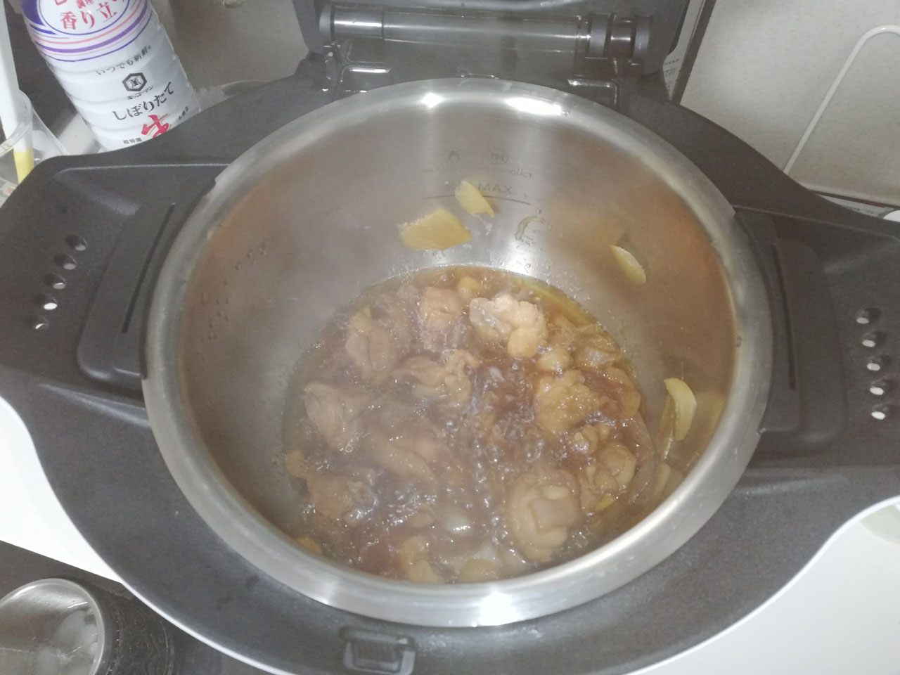 ホットクック 鶏の照り焼き