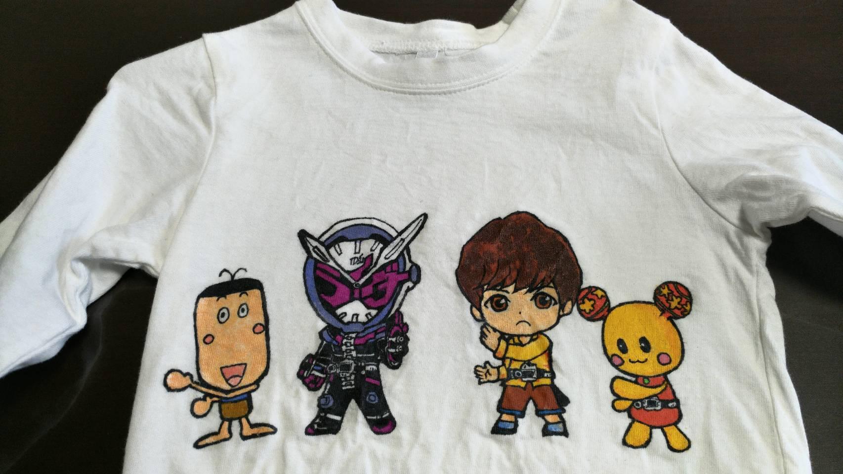 オリジナルイラストTシャツ