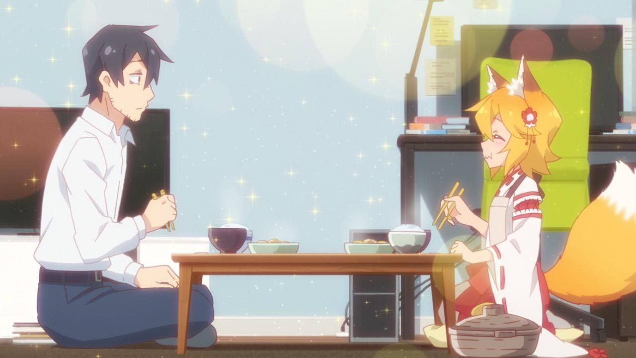 仙狐さんと食事