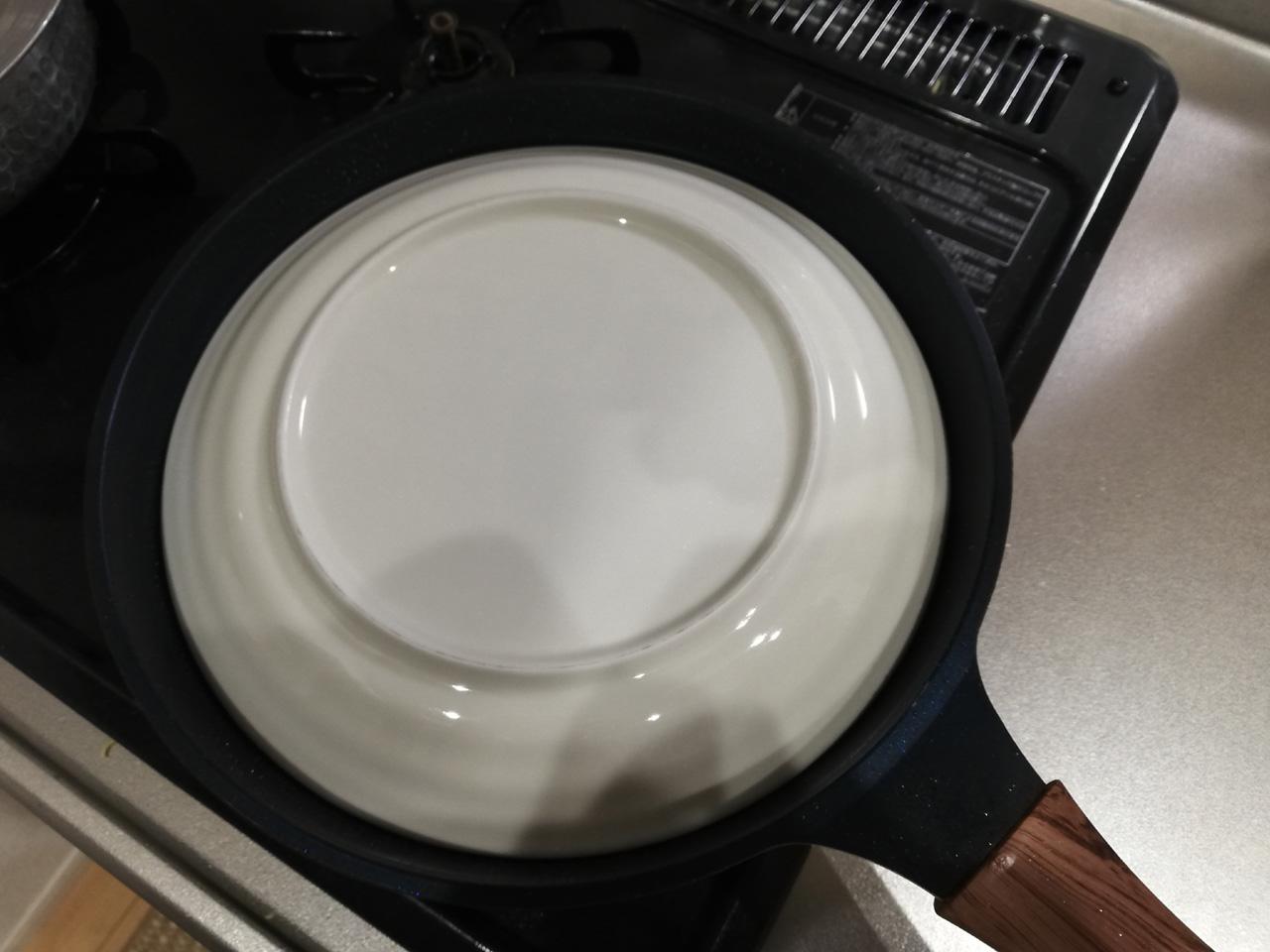 お皿を置く