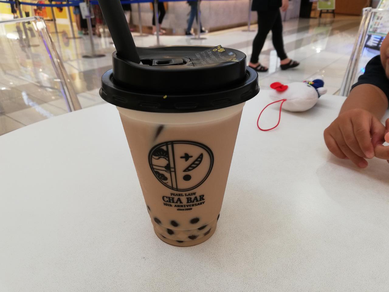 台湾紅茶ラテ
