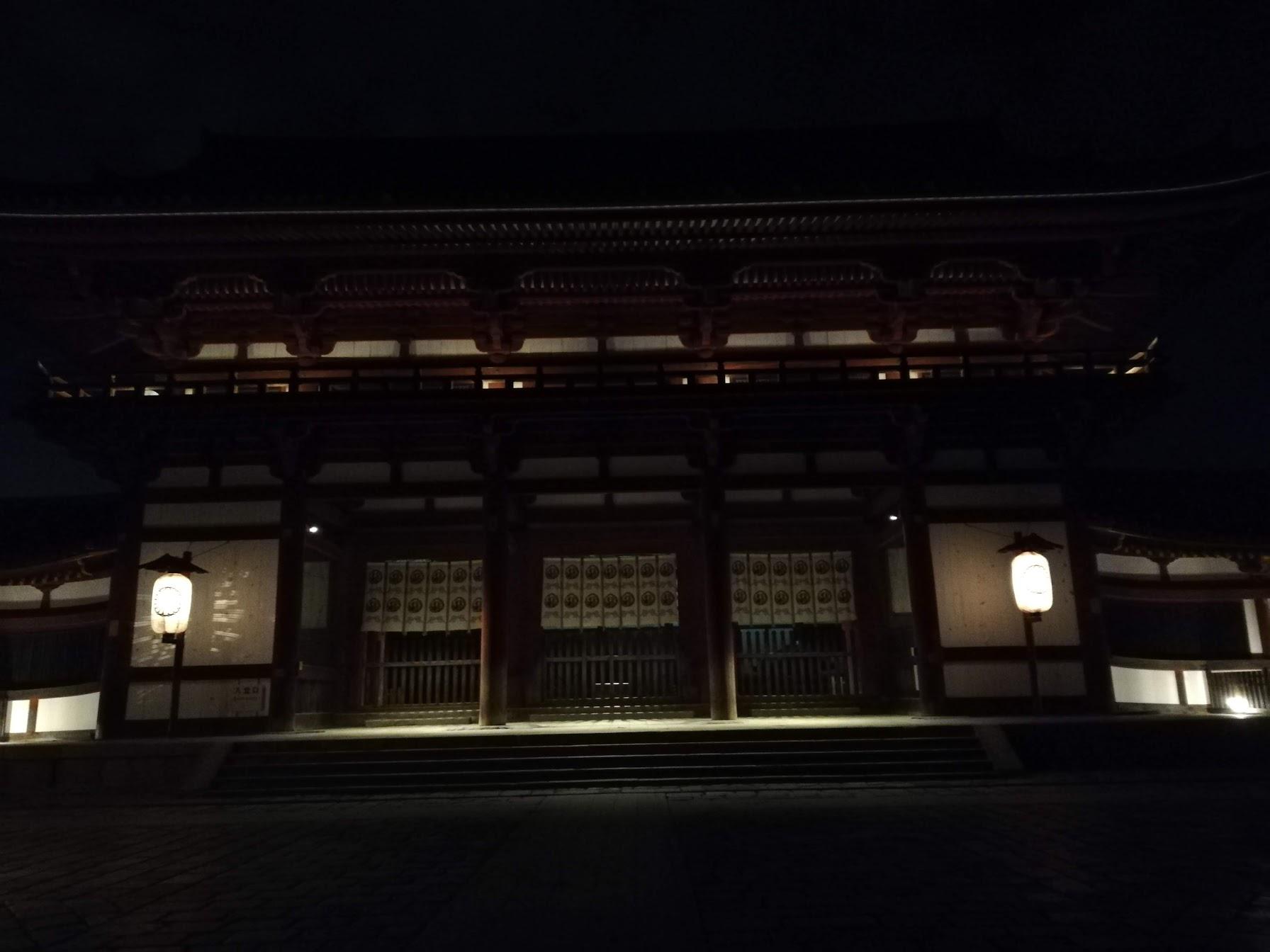 夜の東大寺